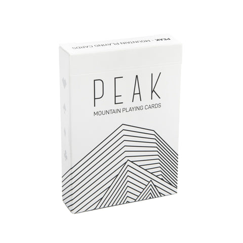 Peak: Mountain Playing Cards