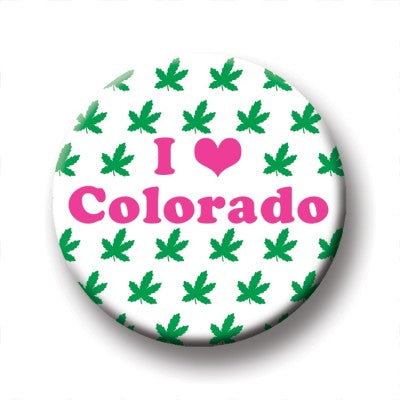 Round Magnet - I Heart Colorado