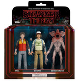 Stranger Things: Action Figure 3-Pack (Pack 2)
