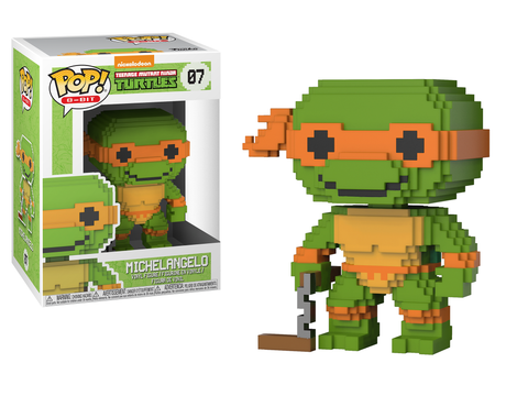 POP! 8-Bit Vinyl Figure: Teenage Mutant Ninja Turtles - Michelangelo
