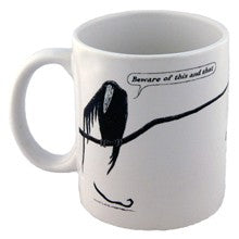 Edward Gorey Mug: The Epiplectic Bicycle