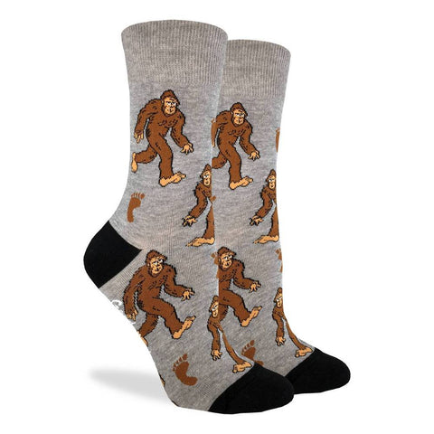Crew Socks: Bigfoot (Size 5-9)