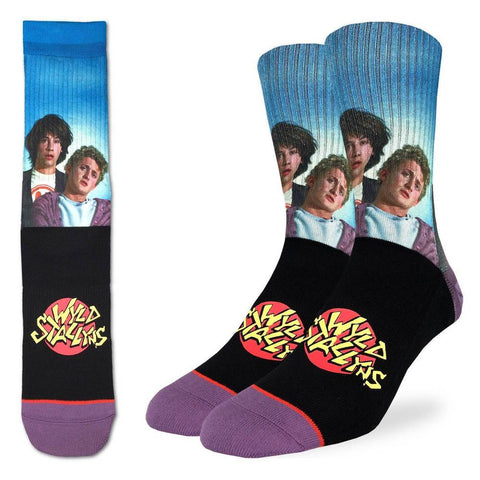 Active Fit Socks: Bill & Ted's Wyld Stallyns (Size 8-13)