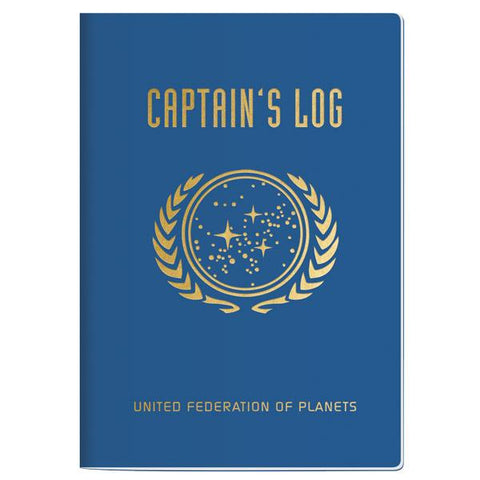 Pocket Notebook: Star Trek Captain's Log