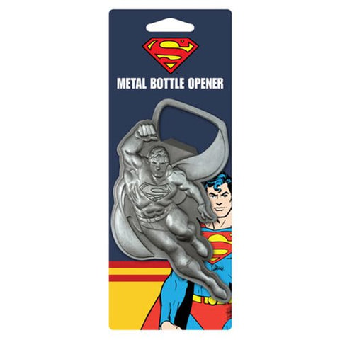 Metal Bottle Opener: Superman In Flight