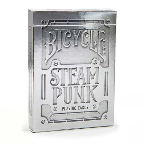 Playing Cards: Bicycle® Silver Steampunk