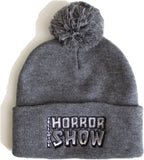 Telluride Horror Show Beanie/Winter Hat: Logo (Dark Grey)
