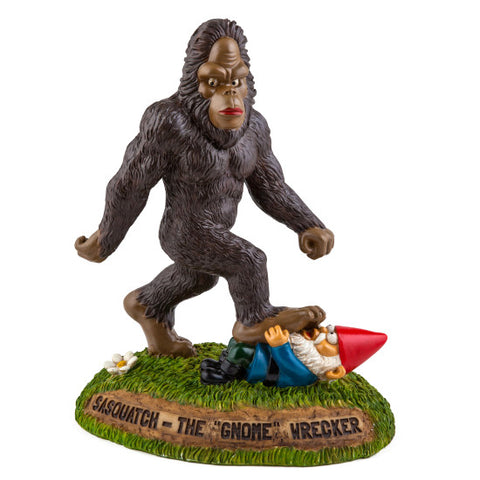 Garden Statue: Sasquatch the Gnomewrecker