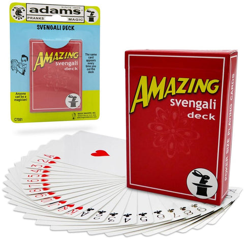 Amazing Svengali Deck (Red or Blue)