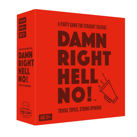 Damn Right, Hell No!: Party Game