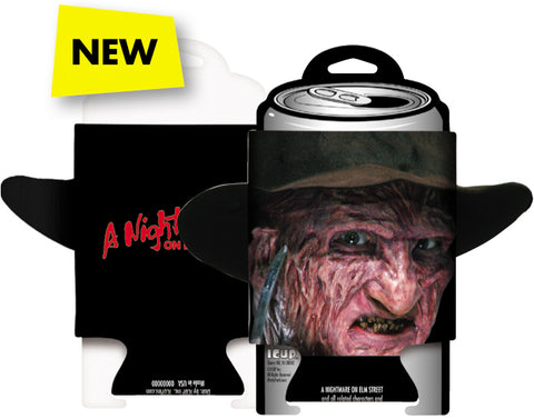 Can Cooler: Nightmare On Elm Street - Freddy with Hat (Diecut)