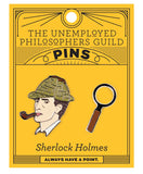 Holmes & Magnifying Glass - Enamel Pin Set