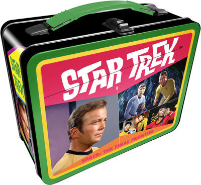 Tin Tote: Star Trek Lunch Box