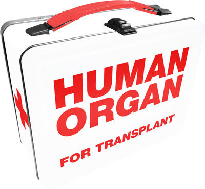 Tin Tote: Human Organ Lunch Box