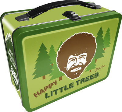 Tin Tote: Bob Ross - Happy Little Trees Lunch Box