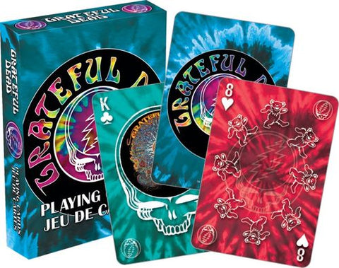 Playing Cards: Grateful Dead - Tie Dye