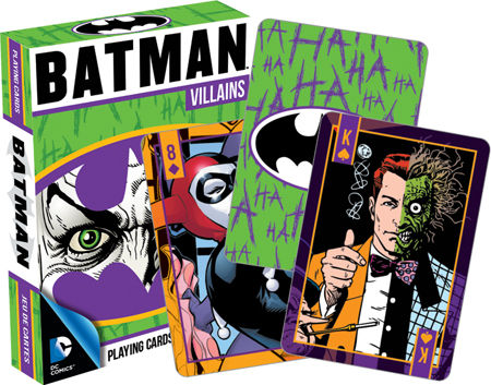 Playing Cards: Batman Villains