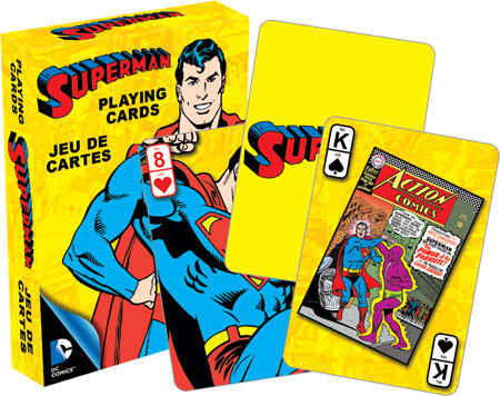Playing Cards: Superman (Retro)