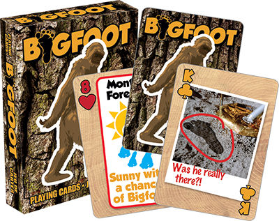 Playing Cards: Bigfoot