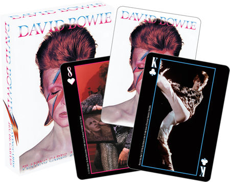 Playing Cards: David Bowie