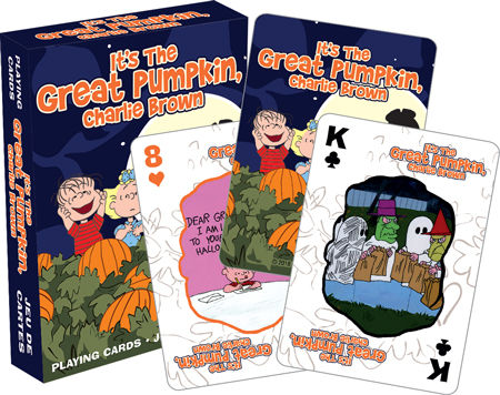 Playing Cards: Charlie Brown - Halloween