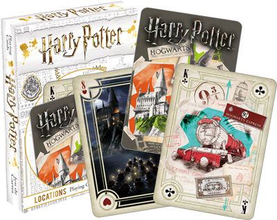 Playing Cards: Harry Potter - Locations