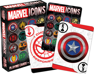 Playing Cards: Marvel Icons
