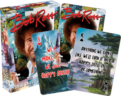 Playing Cards: Bob Ross - Quotes