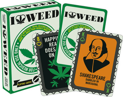 Playing Cards: I Love Weed