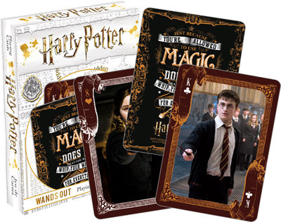 Playing Cards: Harry Potter - Wands Out