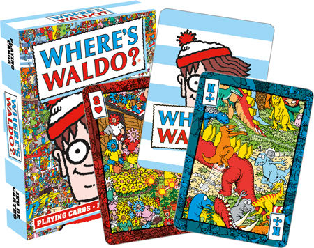 Playing Cards: Where's Waldo