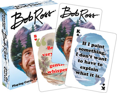 Playing Cards: Bob Ross - Quotes 2