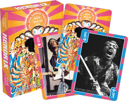 Playing Cards: Jimi Hendrix