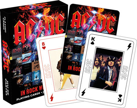 Playing Cards: AC/DC - In Rock We Trust