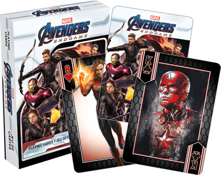 Playing Cards: Avengers End Game