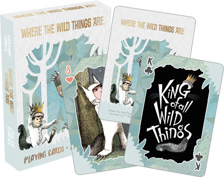 Playing Cards: Where the Wild Things Are