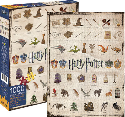 1,000pc Puzzle: Harry Potter - Icons