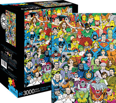 3,000pc Puzzle: DC Comics Line Up