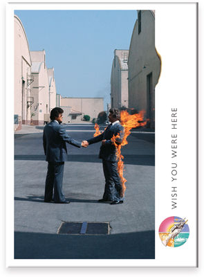 Flat Magnet:  Pink Floyd - Wish You Were Here