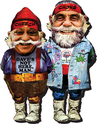 Funky Chunky Magnet: Cheech and Chong - Gnomes