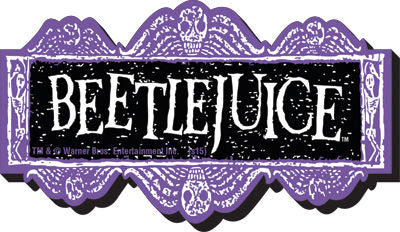 Funky Chunky Magnet: Beetlejuice - Logo