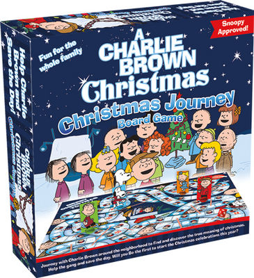 Christmas Journey Board Game: Charlie Brown