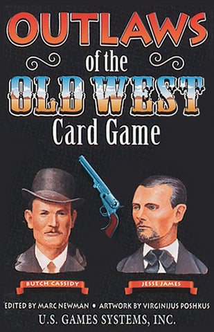 Outlaws of the Old West Playing Card Game