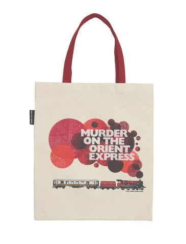 Tote Bag: Murder on the Orient Express