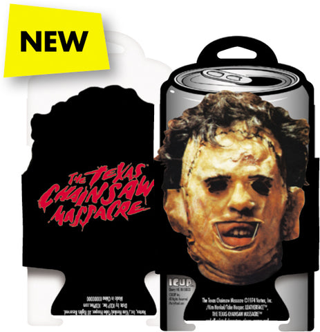 Can Cooler: Texas Chainsaw Massacre - Leatherface (Diecut)