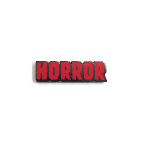 """Horror"" - Enamel Pin"