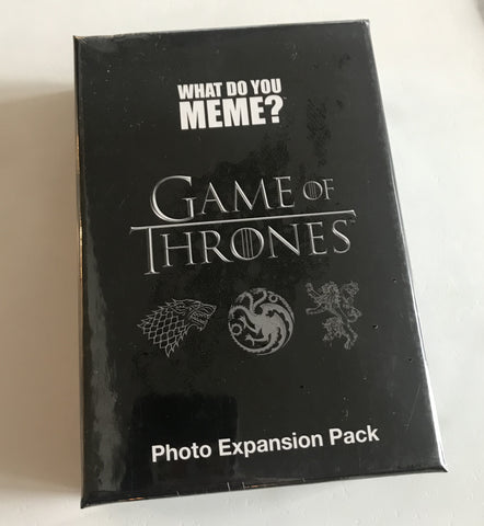 "What Do You Meme Expansion Pack: ""Game of Thrones"""
