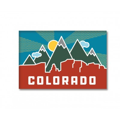 Magnet - Colorado Skyline