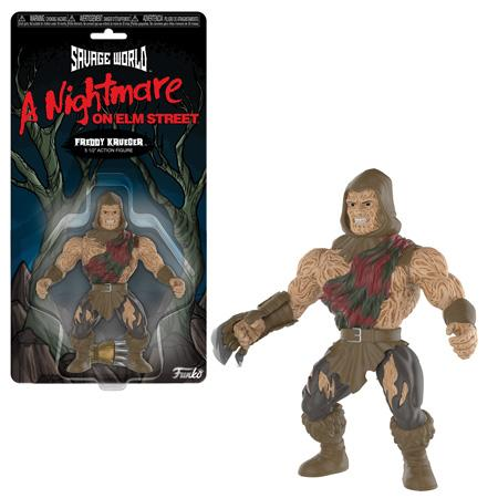 Savage World: Nightmare on Elm Street - Freddy Action Figure