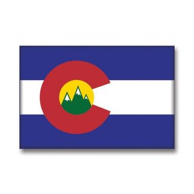 Magnet - Colorado Flag